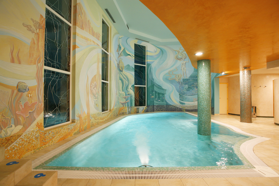 Wellness v hotelu Promenáda - bazén