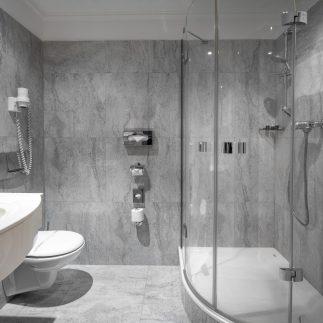 Koupelna v hotelu Promenáda