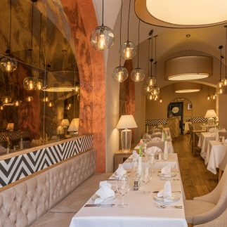 Mezinárodní kuchyně hotelu Promenáda