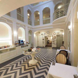 Snídaně v hotelu Promenáda