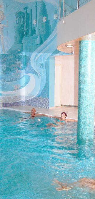 Bazén hotelu Promenáda