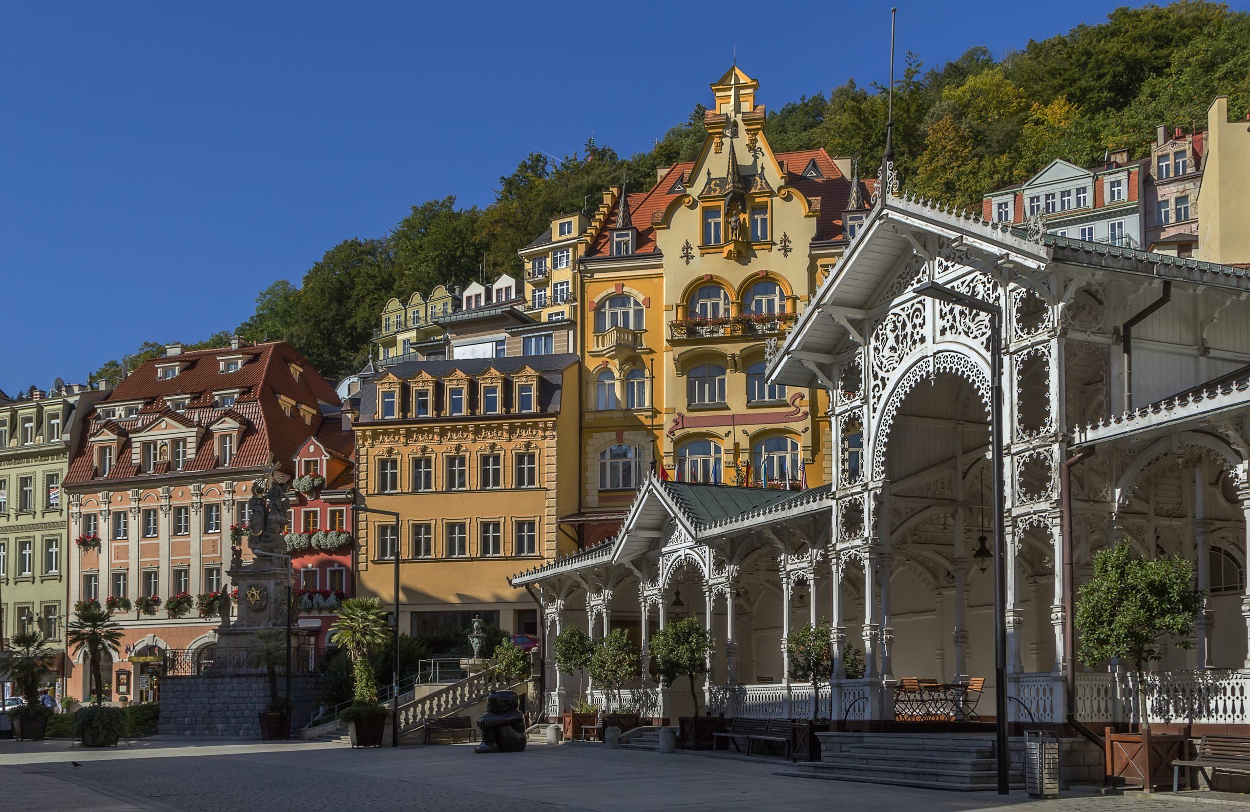 Budova hotelu Promenáda