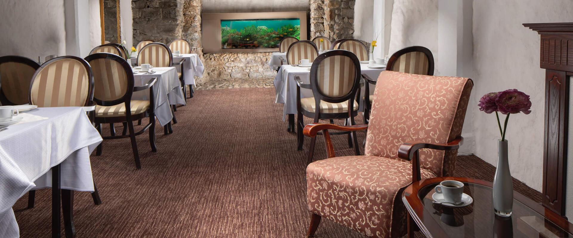 Snídaňová restaurace hotelu Promenáda