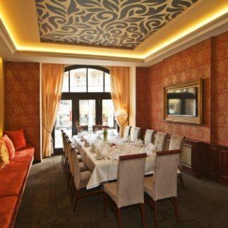 Gurmánská restaurace hotelu Prmenáda